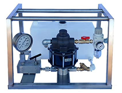 Amazon com: Air Operated Hydrostatic Test Pump 25,000 PSI - With