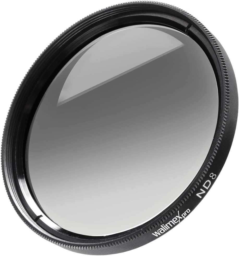 walimex pro 77mm ND8 Coated Filter for Camera