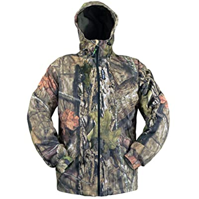 .com : Rivers West Waterproof Windproof Camouflage Fleece Hunting Gear - Adirondack Jacket : Clothing