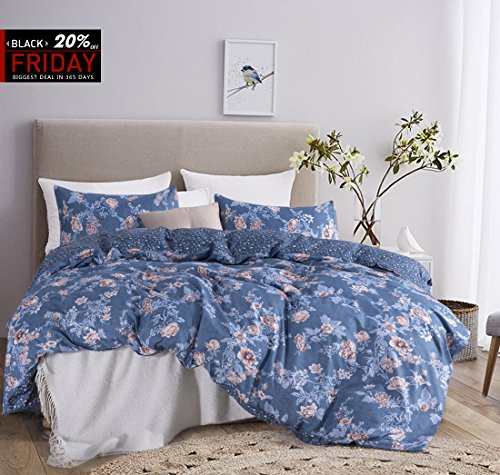 FLOWER HOTEL QUALITY DUVET COVER SET NOW ONLY $28.89!