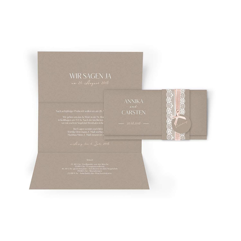 Hochwertige Einladungskarten zur Hochzeit im edlen Kraftpapier Look   Designs auswählbar   Hochzeitseinladungen mit Druck Ihrer eigenen Texte   100 Stück   Rustic Vintage   Moderne Hochzeitskarten B07NY1P2GH | Verbraucher zuerst  | 2019  | Deu