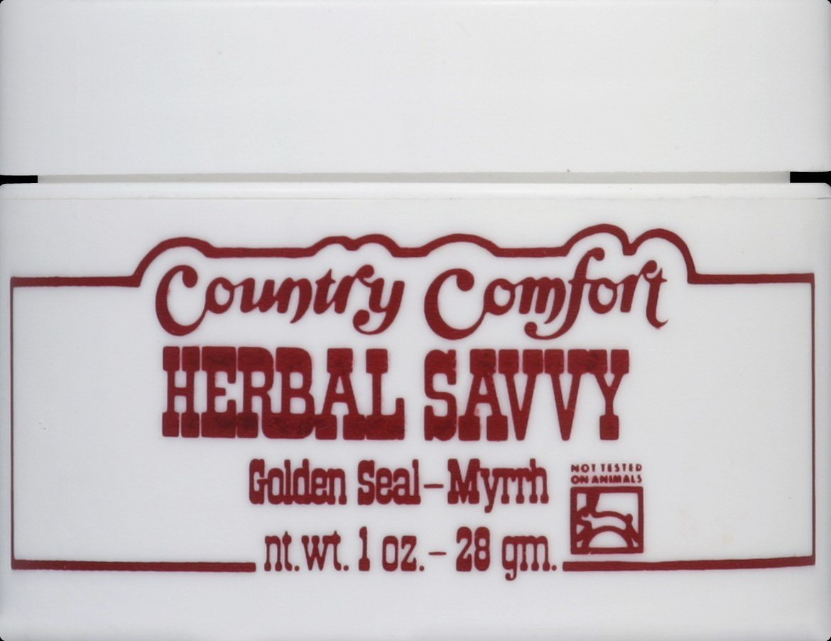 Herbal Savvy Salve - Goldenseal-Myrrh, 1 oz ( Multi-Pack)