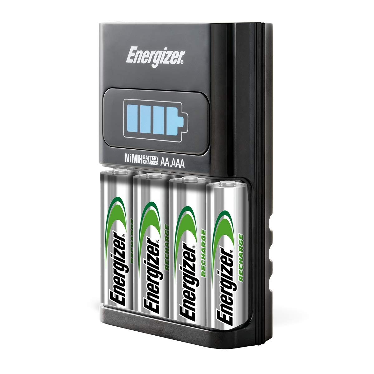 Energizer AA/AAA 1 Hour Charger with 4 AA NiMH