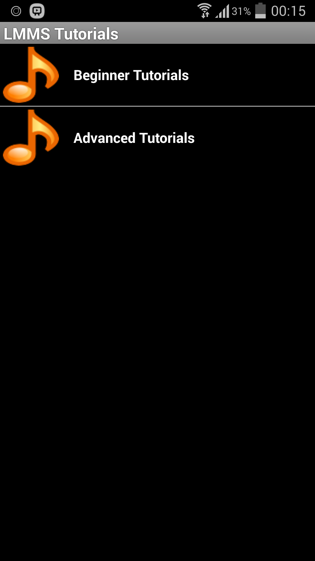 Amazon com: LMMS Tutorials: Appstore for Android