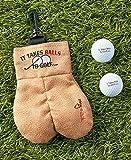 MySack Golf Ball Storage Bag   This Funny Golf Gift