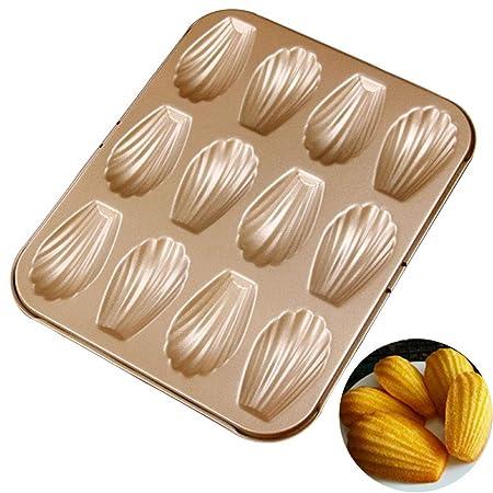 Bclaer72 - Molde de Horno para 24 Muffins, Muffins y Magdalenas ...