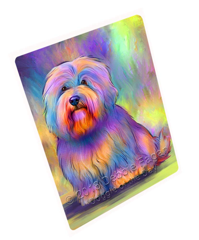 Doggie of the Day Paradise Wave Coton de Tulear Dog Blanket BLNKT129765 (60x80 Woven)