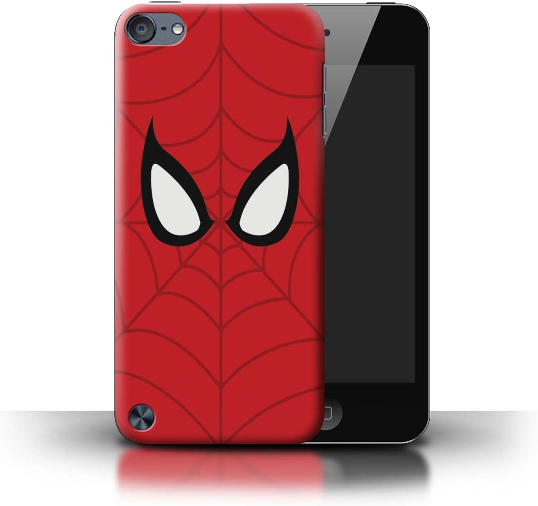 Serie Spider-Man M/áscara Inspirado eSwish Carcasa//Funda Dura para el Apple iPod Touch 5 Arte de Superh/éroe