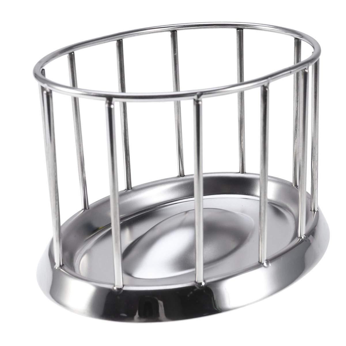 Balacoo Tortoise Water and Foot Bowl Stainless Steel Pet Feeding Tray Tool by Balacoo