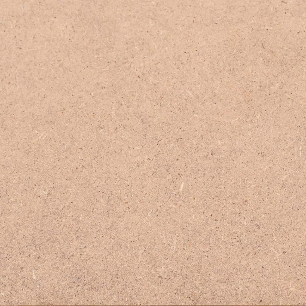 CASTLOVE MDF-Platten 10 St/ück Quadratisch 60x60 cm 2,5 mm
