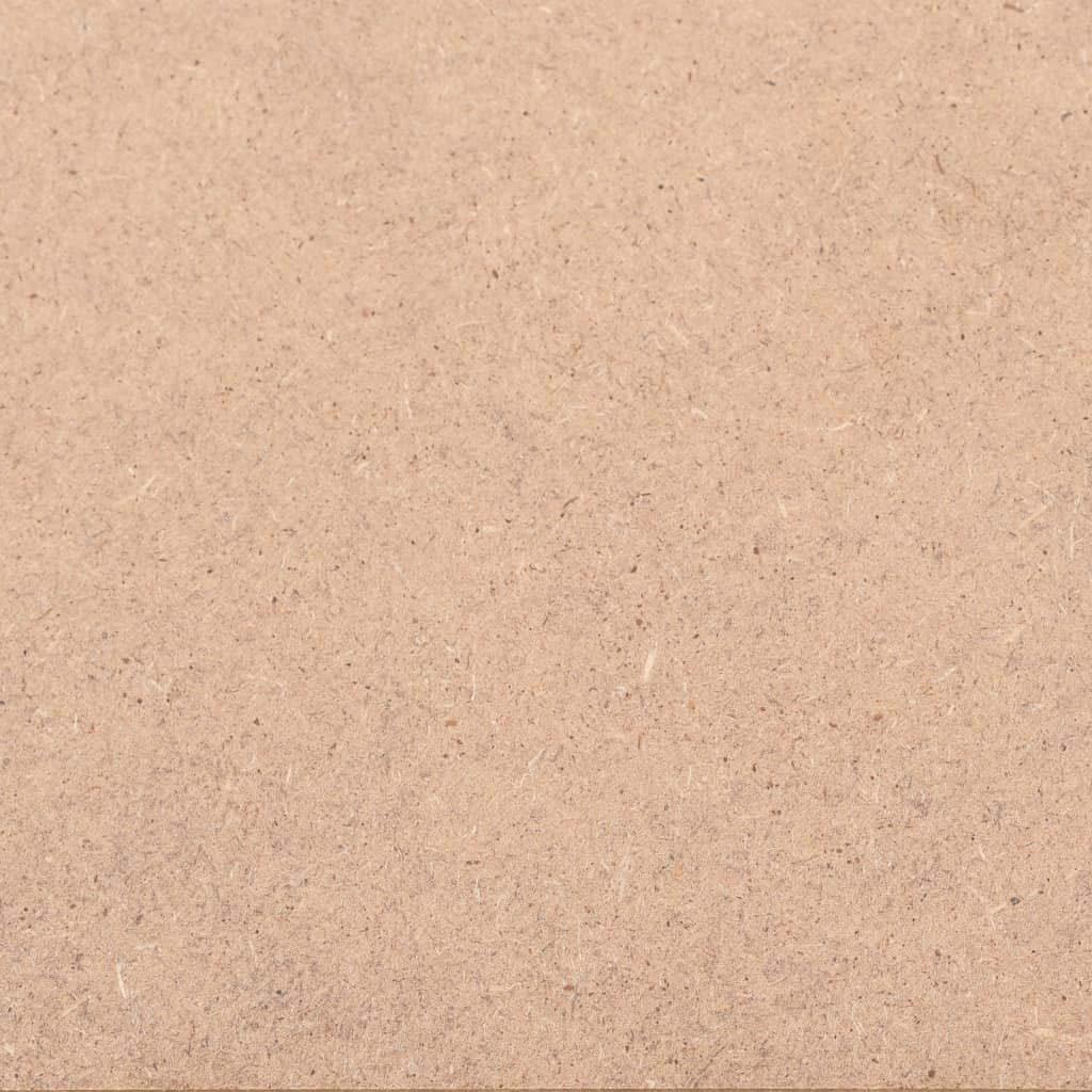 vidaXL 8x MDF Platten 60x60 cm 12 mm Mitteldichte Faserplatte Holzzuschnitt