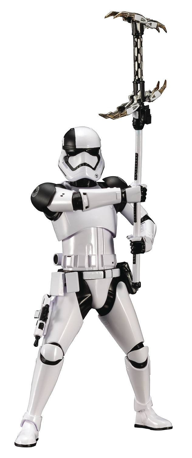 Kotobukiya ARTFX + First Order Storm Trooper Executioner Star Wars / Last Jedi 1/10 PVC Made Painted Simple Assembly Kit