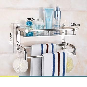 Ablage Dusche Edelstahl Badezimmer Bad Handtuch Bad Accessoires