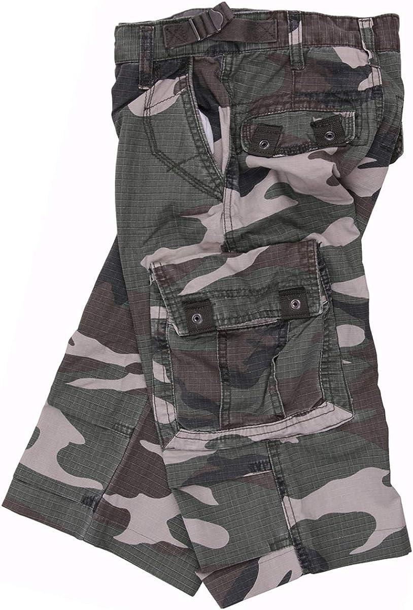 FOSTEX Pantacourt Delave Enfant Kids Camouflage Woodland 112214 Airsoft 12 Ans