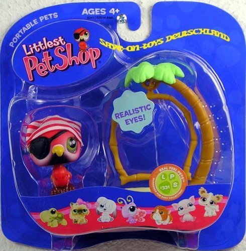 Littlest Pet Shop Pets On the Go Figure Parrot with Swing]()