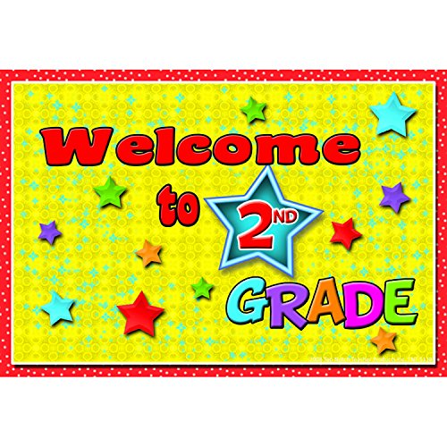Top Notch Teacher Products TOP5118 Welcome to 2nd Grade Postcards, 4.2