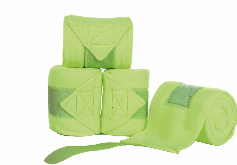 Hkm 551004 Vendaje Neon–Manta Polar, Longitud 300cm, Neon Verde
