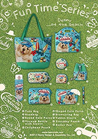 Henry Cats /& Friends Casual Drawstring Bag Insulated Neoprene Lunch Bag Lunch Tote - for School Travel Dogs and Cats Lovers