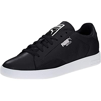 PUMA Women's Match LO Black and White WN's-W | Fashion Sneakers