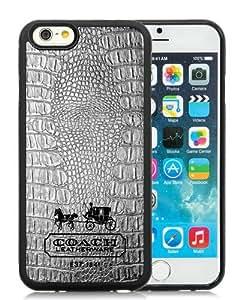 Popular iPhone 6/iPhone 6S TPU Skin Case ,Coach 80 Black iPhone 6/iPhone 6S Screen Cover Case Hot Sale And Unique Designed Phone Case