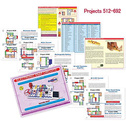 Snap Circuits Extreme SC-750 Electronics Exploration Kit | Over 750 STEM Projects | 4-Color Project Manual | 80+ Snap Modules | Unlimited Fun by Snap Circuits (Image #5)