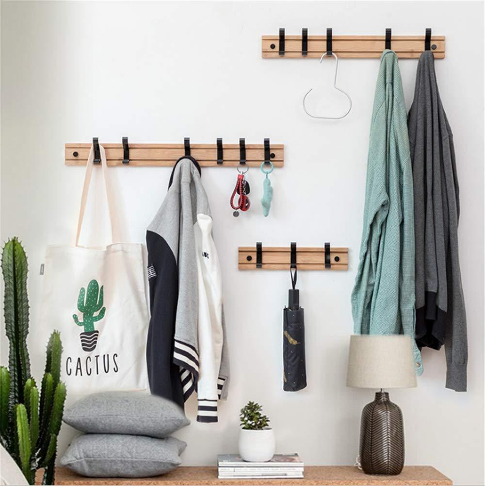 Amazon.com: ZXWCYJ Wooden Coat Rack, Wall Mounted Coat Rack ...