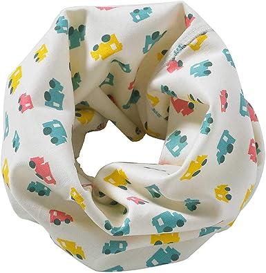 Just Essentials Bufanda de algodón para cuello para niños y niñas ...