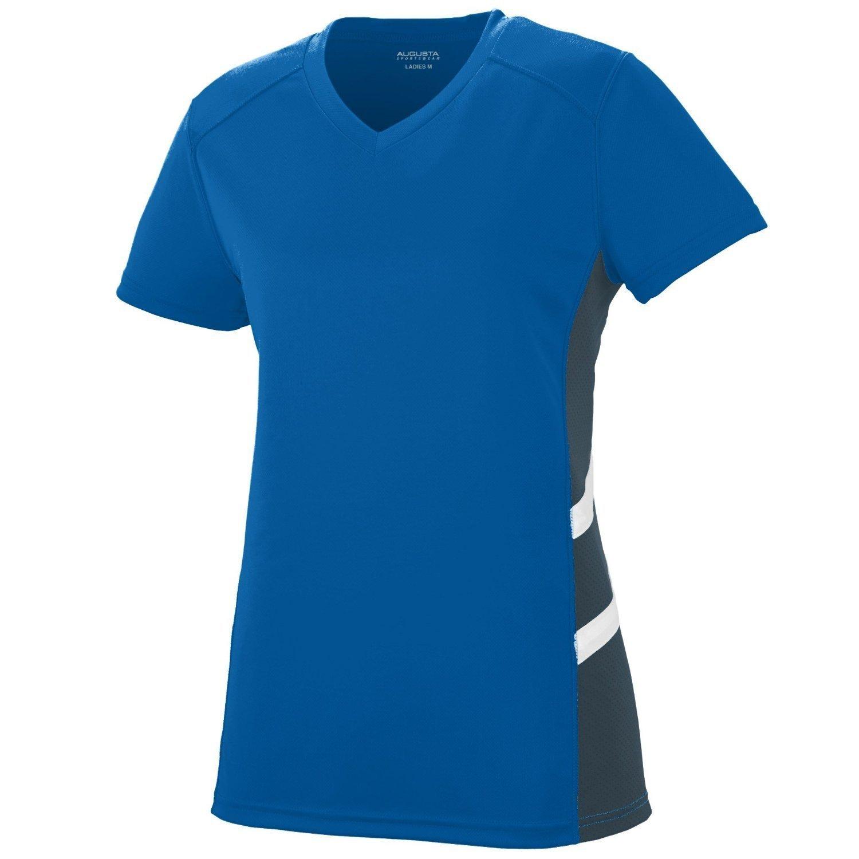Augusta SportswearレディースOblique Jersey B010KBHK3IRoyal/Slate/White xx-large