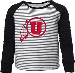 Official NCAA University of Utah Utes RYLUT06 Mens//Womens Premium Triblend T-Shirt