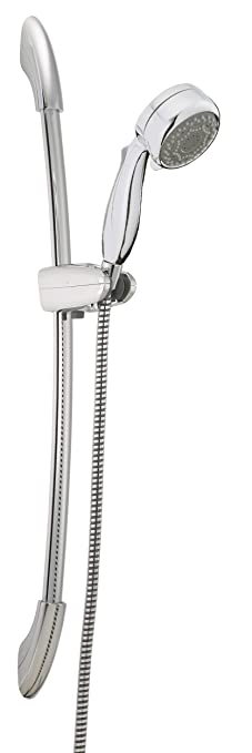 delta faucet sevenspray and massage wall bar system chrome