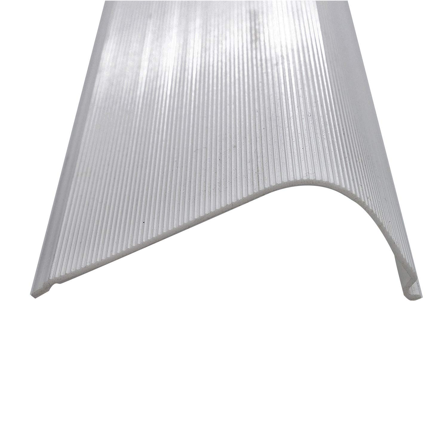 """18"""" Under Cabinet Diffuser White Ribbed Replacement Cover Lens (Please Check The Size Is Correct Before Ordering)"""