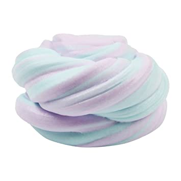 Colorful Fairy Floss Cloud Slime Fluffy Floam Sludge Stress Kids Clay Fun Toy