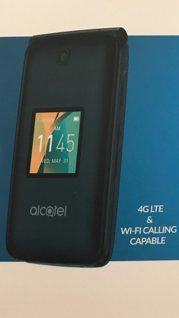 Alcatel Go Flip 4GB 4044W Blue - T-Mobile: Certified Refurbished by Alcatel (Image #2)