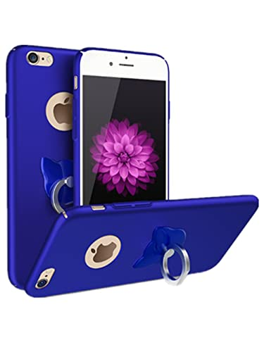 iPhone 7 Funda,PC protección Case Cover Multi-Funcional Cubierta Caso con Sorporte con Rotatorio Sop...