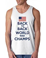 Back to Back World War Champs Flag Tank Top