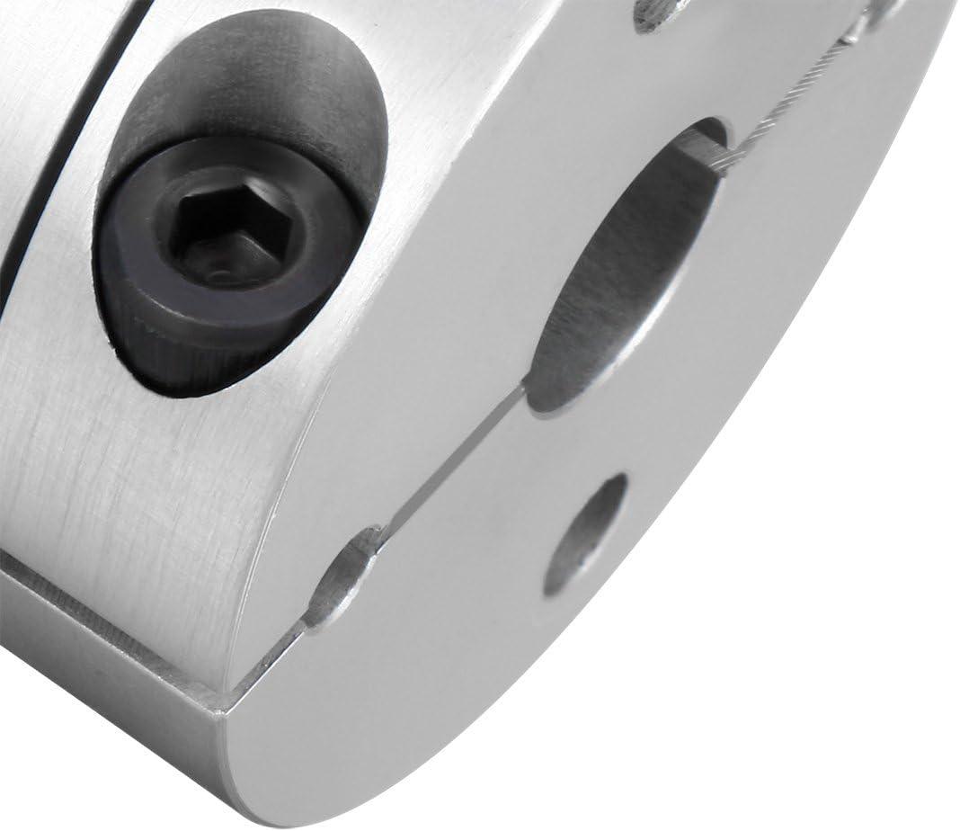Sourcingmap 10/SystemsEleven Clamp Tight Arbre du moteur 2/Membrane Couplage Coupler