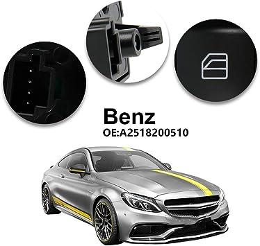 AutoFullCar.com Bouton L/ève-vitre Mercedes Classe A B