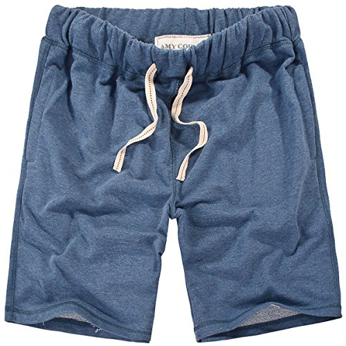 Amy Coulee Men's Classic Vintage Casual Shorts (2XL, Marled)