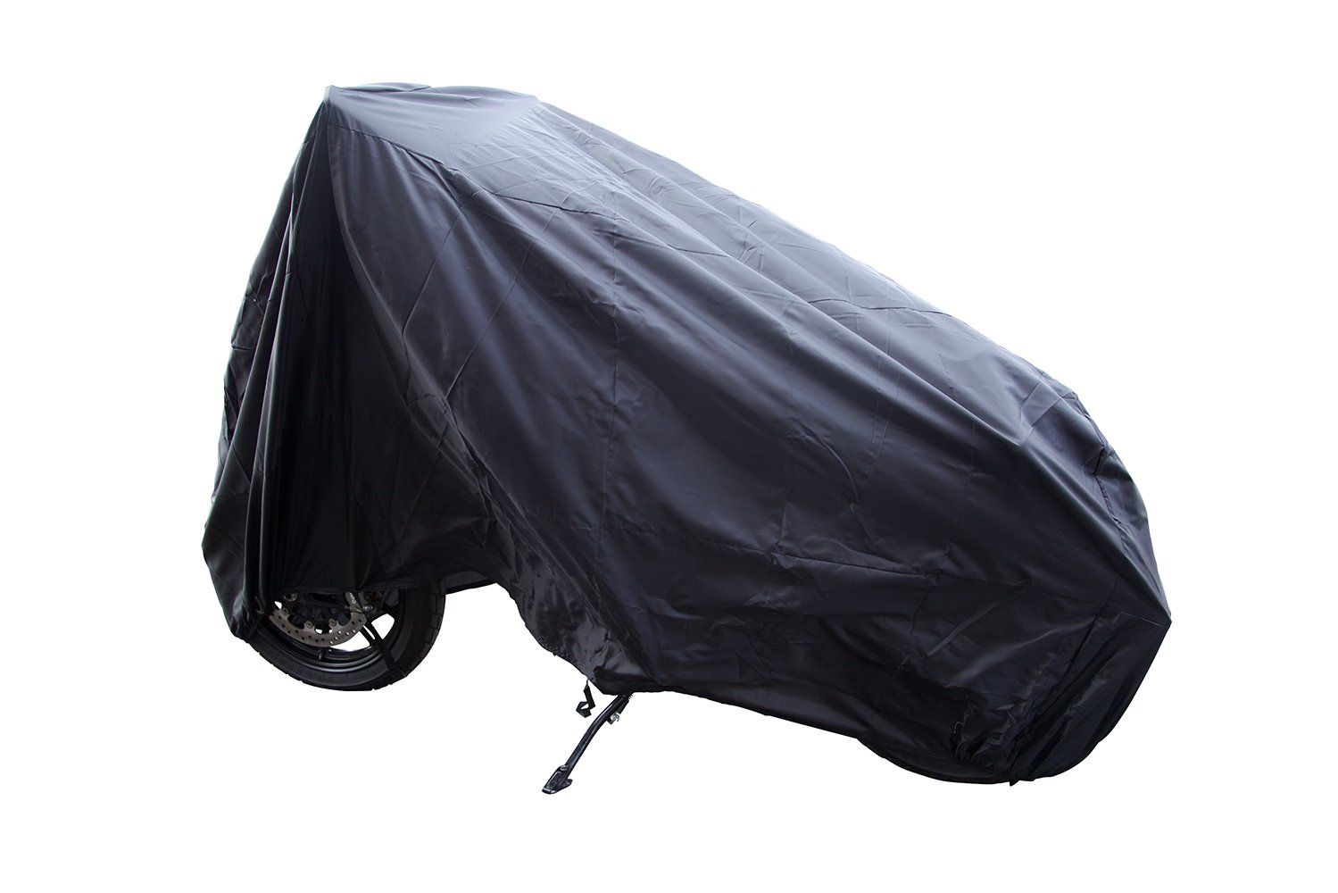Auto Companion Motorbike Cover 190T Nylon Waterproof Motorcycle Cover - Anti Dust, Rain, UV. Indoor Outdoor Protection with Lock-holes Extra Large 240cm AUTOC-07