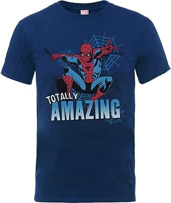 Marvel Comics The Amazing Spiderman Oficial Camiseta Niños