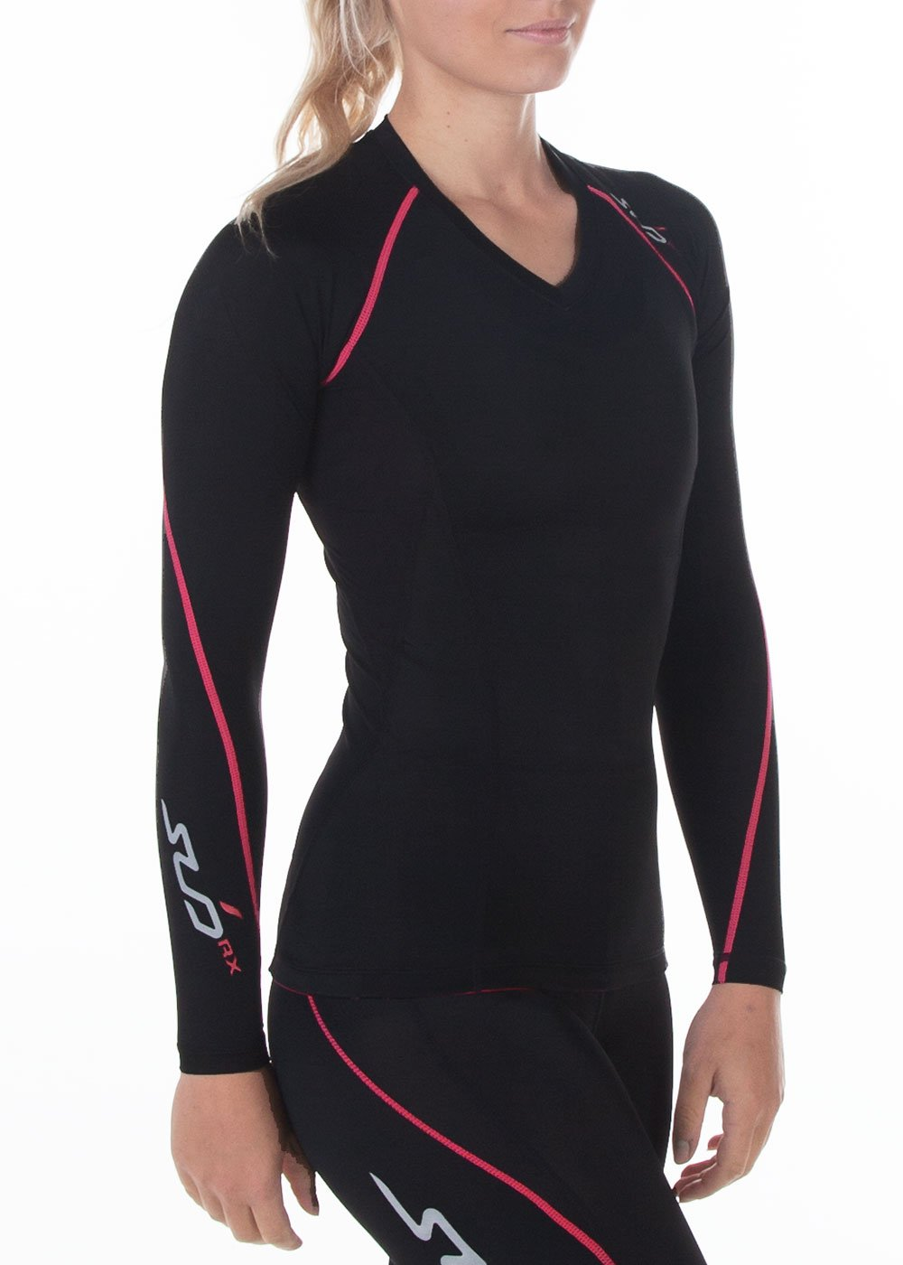 Sub Sports Womens Compression Long Sleeve Top Vest Gym Yoga Running Recovery Unen
