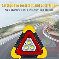 Luces de Emergencia Naranja Guajave LED luz de Advertencia de tr/áfico Fuerte magn/ético de Seguridad para Carretera