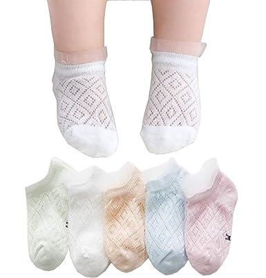 139b4da4e593a Ainial ソックス ベビー 子供 女の子 男の子 春夏 薄手 メッシュ 通気性よい 靴下 赤ちゃん ガールズ