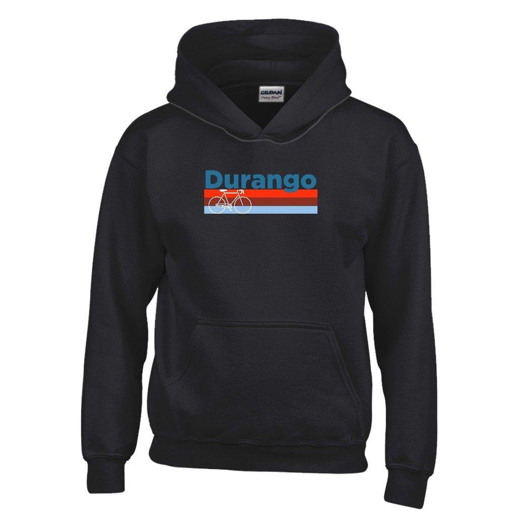 Durango Retro Bike /& Mountain Bike Youth Hoodie Colorado Kids Sweatshirt