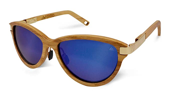 Fento Wood Sunglasses Cat Eye