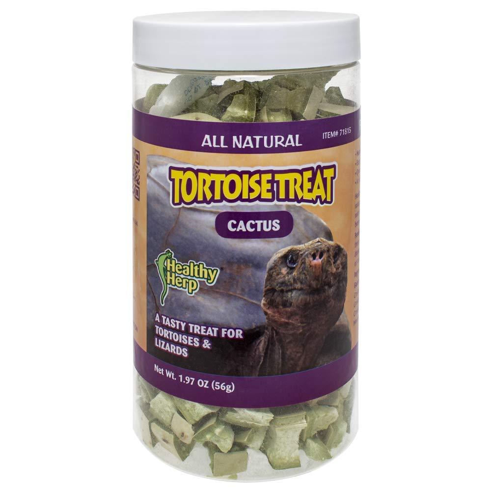 Healthy Herp Tortoise Treat Cactus 1.97-Ounce (56 Grams) Jar