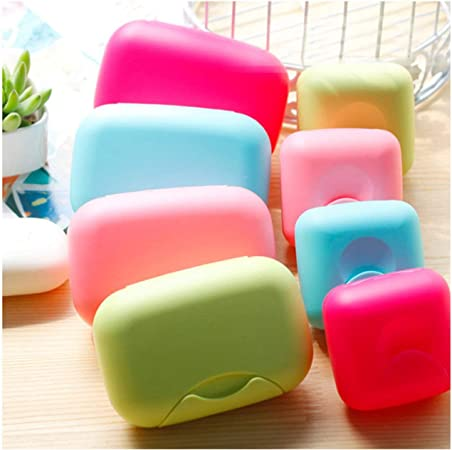 Portable Travel Large Holder Box Container Shower Bathroom Home Soap Dishes