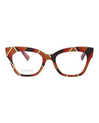 ca11d2e2c06 Amazon.com  Eyeglasses Gucci GG 0060 O- 003 MULTICOLOR    Clothing