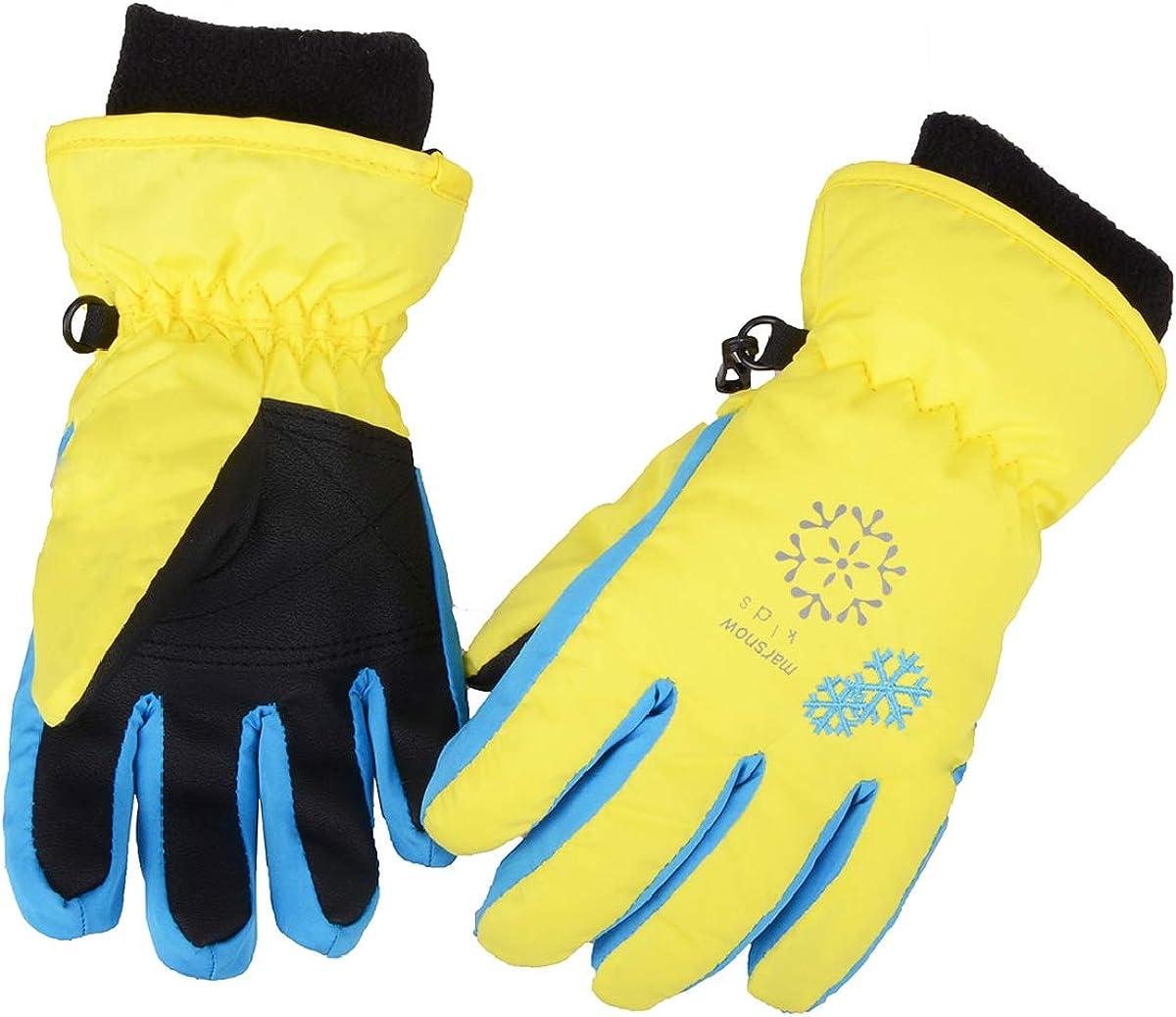 Ski Snowboard Full Finger Windproof Cycling Bicycle Gloves Winter Warm Fleece