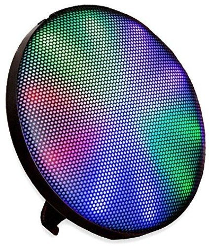 ION Audio ION-HELIOS Wall-Mounting Wireless Bluetooth Stereo Speaker with Multicolor LEDs & 15 Light Modes (Wall Point Entertainment)